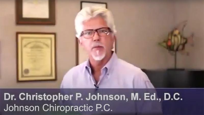 Chiropractor Raleigh NC Chris Johnson