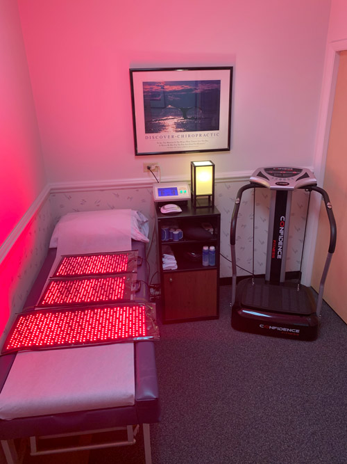 Chiropractic Raleigh NC Boca LipoMelt Treatment Room